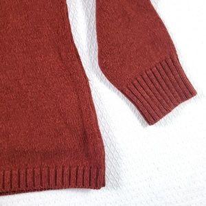 L.L. Bean Sweaters - L.L.Bean Burnt Orange Ribbed Turtleneck Sweater